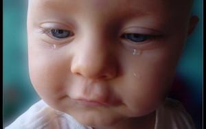 ojos bebes recién nacidos Hipersecreción lagrimal
